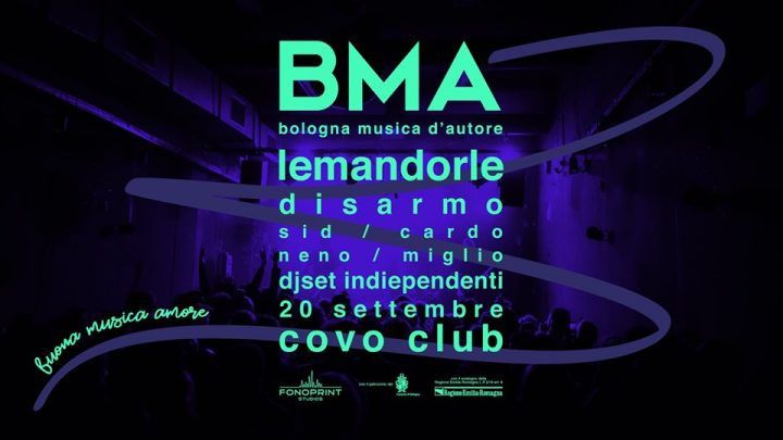BMA prima serata al COVO Club