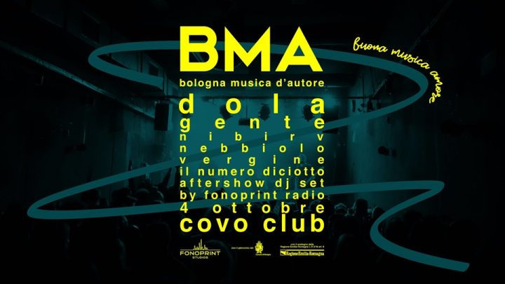 BMA seconda serata Covo Club